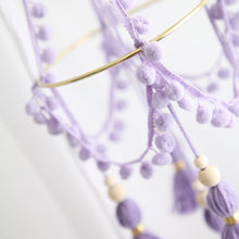 Load image into Gallery viewer, Mini Chandelier Tassel Mobile