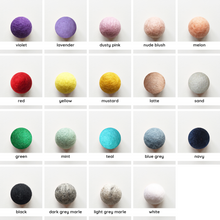 Load image into Gallery viewer, Felt Ball Reeds