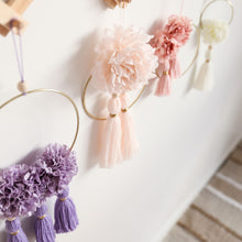 Load image into Gallery viewer, floral wall hanging fleur collection