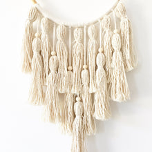 Load image into Gallery viewer, Little Cloud Lane handmade boho tassel wall hanging