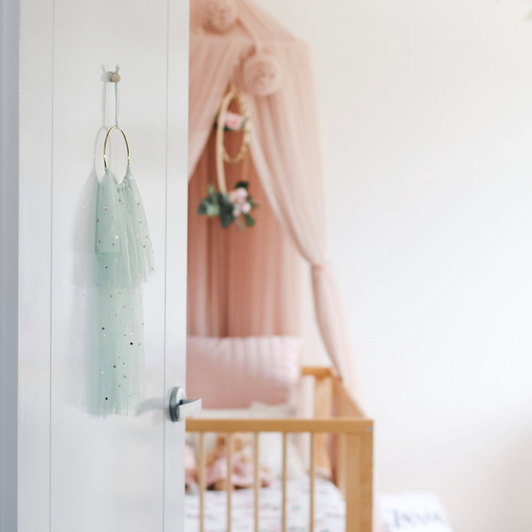 Star Tulle Wall Hanging