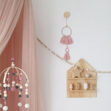 Load image into Gallery viewer, SAMPLE Pink Breeze Tassel Wall Hanging - Small