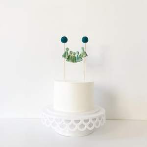 Jungle party cake topper The Little Shindig Shop