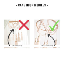 Load image into Gallery viewer, little cloud lane chandelier tassel mobile