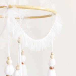 Tulle Chandelier Mobile