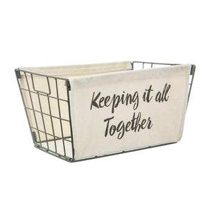 KEEPING IT ALL TOGETHER BASKET