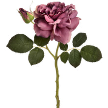 Load image into Gallery viewer, DARK PINK SHORT STEM ROSE