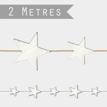 Load image into Gallery viewer, DISTRESSED STAR GARLAND