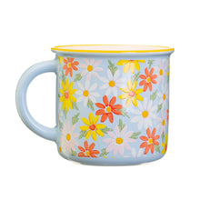 Load image into Gallery viewer, BLUE DAISY MUG