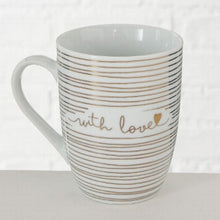 Load image into Gallery viewer, GOLD LOVE MUG