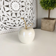 Load image into Gallery viewer, PEARLY APPLE & PEAR WITH GOLD STEMS
