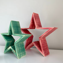 Load image into Gallery viewer, FESTIVE WOODEN STAR