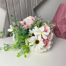 Load image into Gallery viewer, PINK ROSE & HYDRANGEA BOUQUET