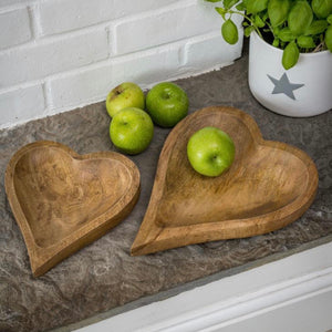 Natural Heart Tray