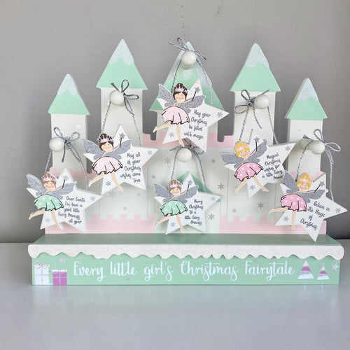 CHRISTMAS FAIRY SIGN