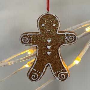 HANGING ICED GINGERBREAD