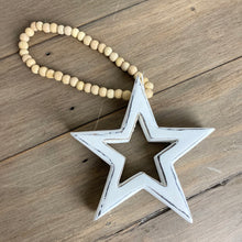 Load image into Gallery viewer, WOODEN BEADED STAR