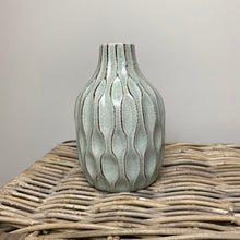 Load image into Gallery viewer, MINT PATTERNED VASE