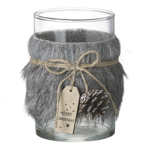 GREY ALPINE TEA LIGHT