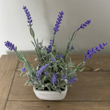 Load image into Gallery viewer, FAUX POTTED LAVENDER