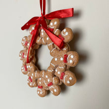 Load image into Gallery viewer, MINI GINGERBREAD WREATH