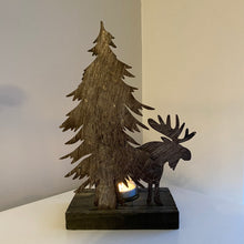 Load image into Gallery viewer, MOOSE TEA LIGHT HOLDER