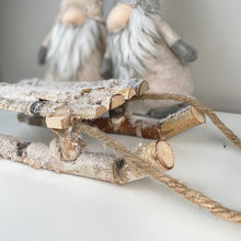 Load image into Gallery viewer, RUSTIC SNOWY SLEIGH
