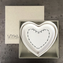 Load image into Gallery viewer, SET OF 2 HEART PLATES
