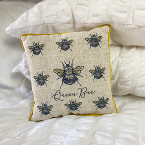 VINTAGE QUEEN BEE CUSHION