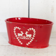Load image into Gallery viewer, FESTIVE RED PLANTER