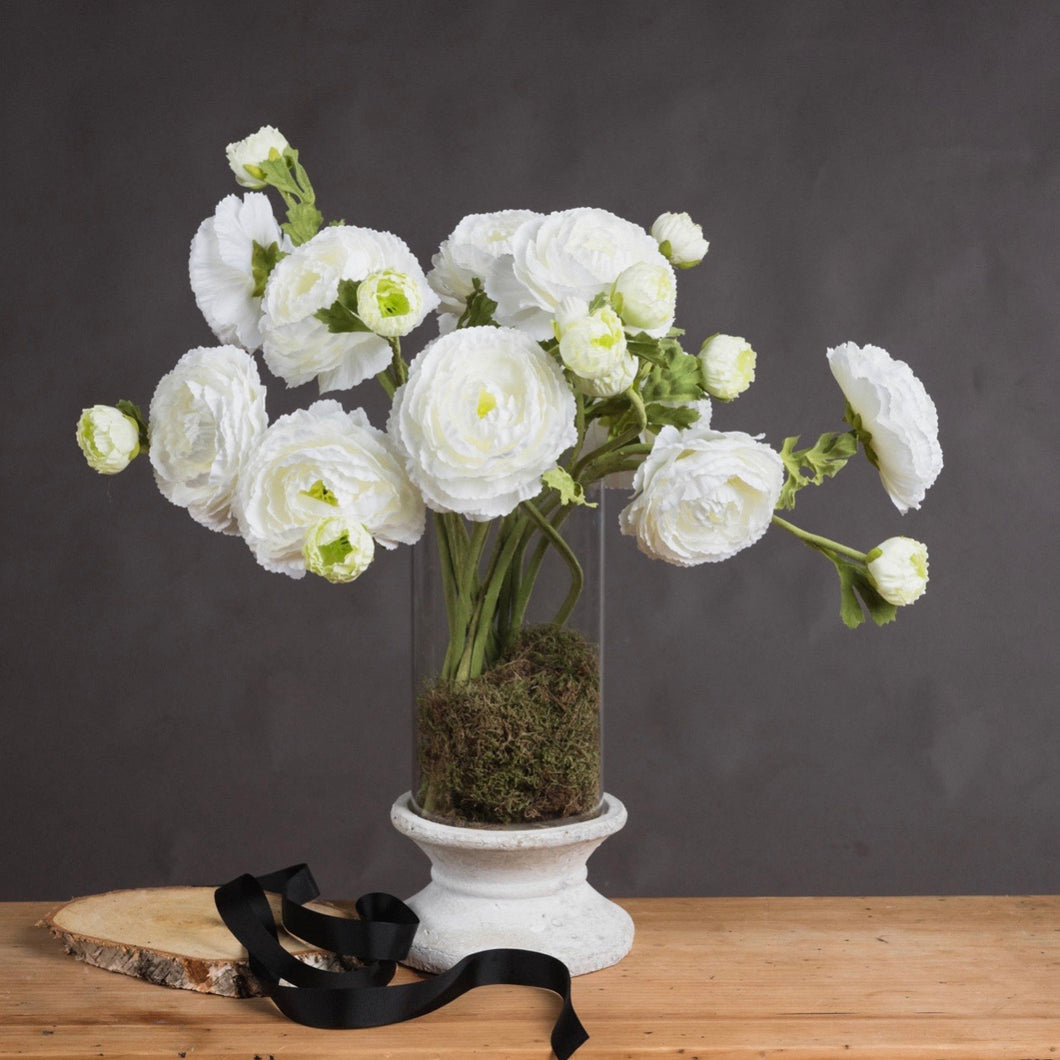 WHITE RANUNCULUS SPRAY