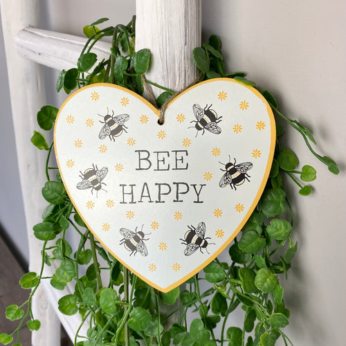 BEE HAPPY HEART
