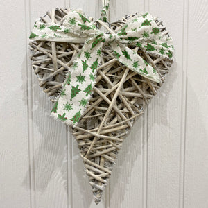 WILLOW CHRISTMAS HEART