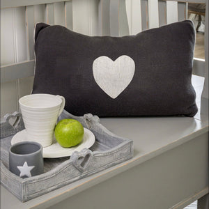 HEART KNIT CUSHION