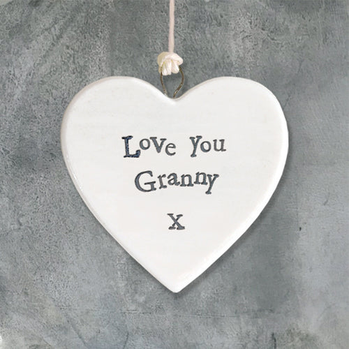 LOVE YOU GRANNY HEART