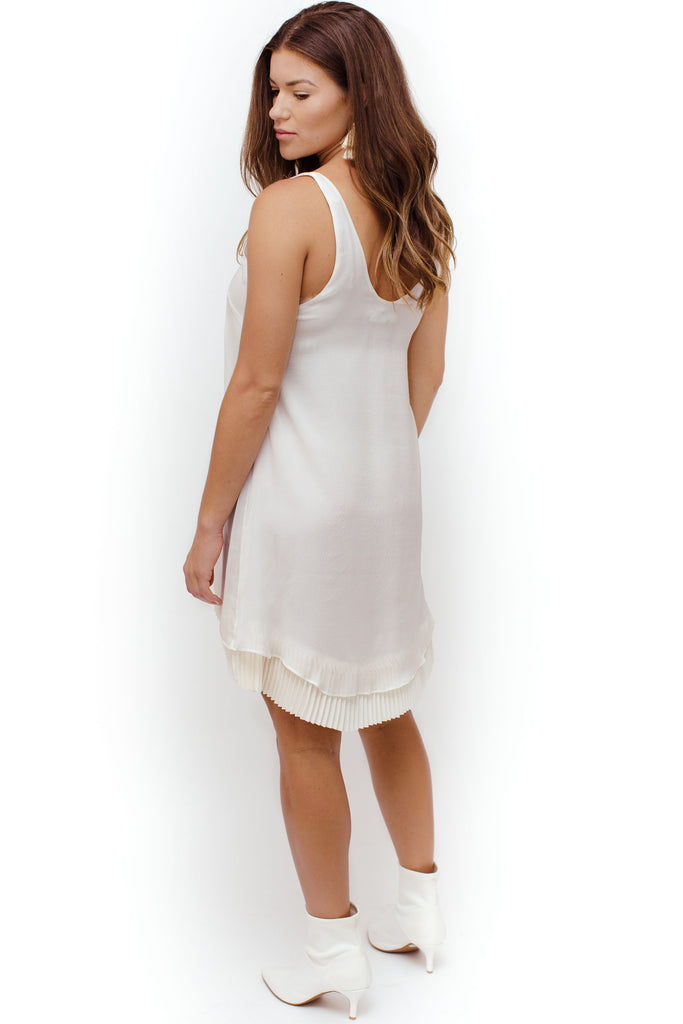 Catherine Gee - Founce Dress - White