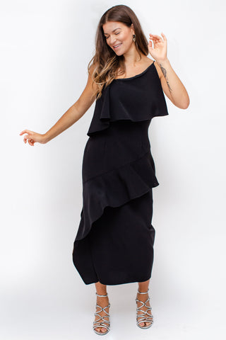 Keepsake - No Love Midi - Black