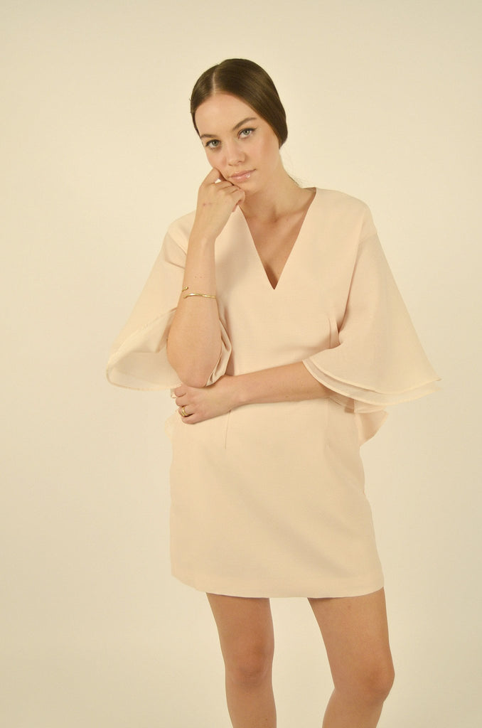 Keepsake - All Yours Mini Dress - Soft Peach