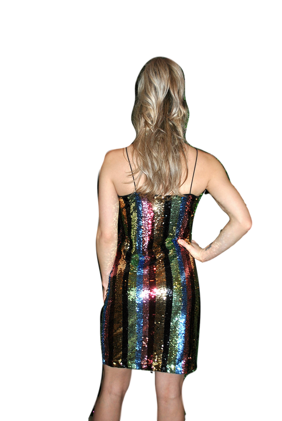 She + Sky - Sequin Mini - Rainbow