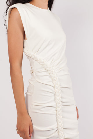 Ronny Kobo - Adrena Mini Dress -White