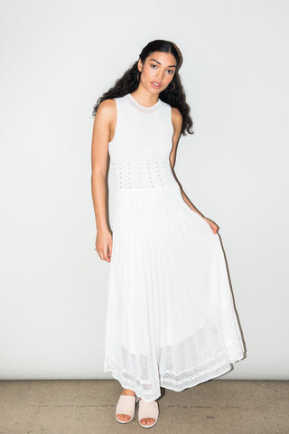 Ronny Kobo -Ebrill dress - White