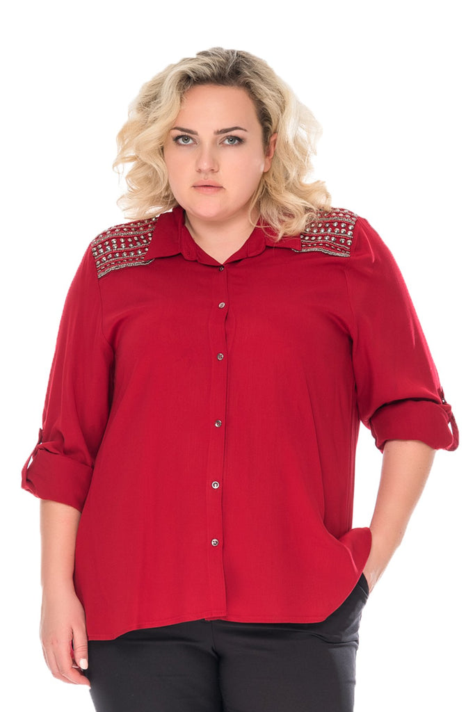 Beady Shoulder Shirt
