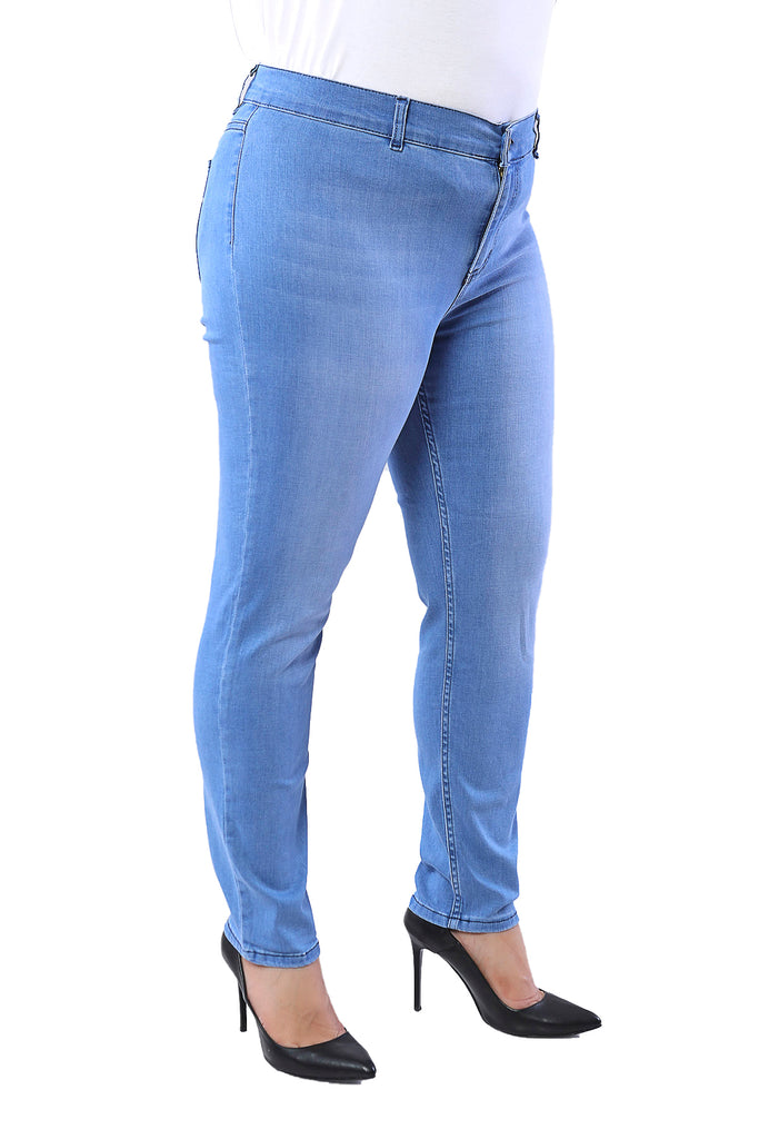 Plus Size Jean Models- Slim fit Jeans