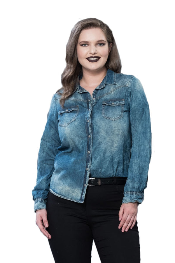 Active Denim Shirt