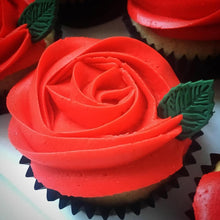 Load image into Gallery viewer, Rose Cupcakes