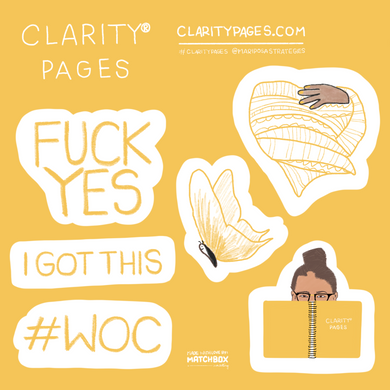 Clarity Pages Sticker Sheets
