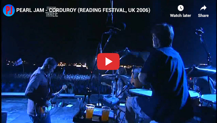#1 - Corduroy - Best Pearl Jam Song of All Time
