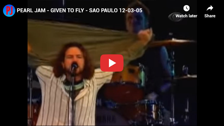 #10 - Given to Fly - Best Pearl Jam Songs