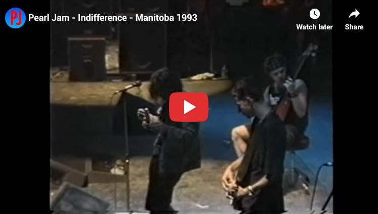 #21 - Indifference - Pearl Jam's Best Songs