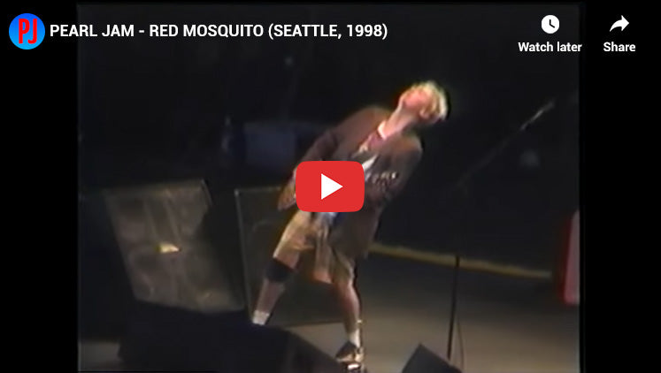 #22 - Red Mosquito - Top Pearl jam Songs
